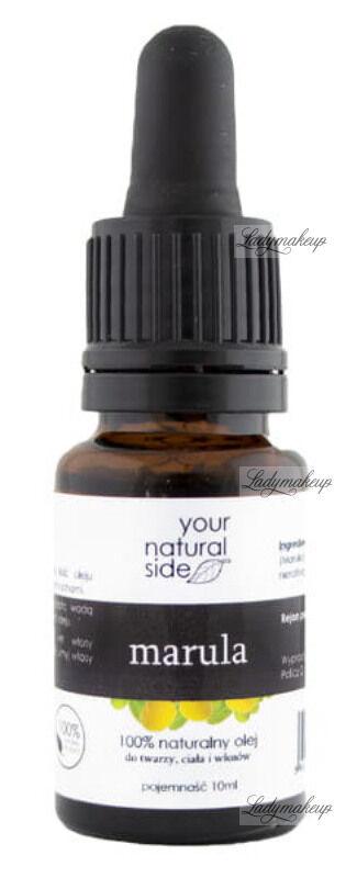 Your Natural Side - 100% naturalny olej marula - 10 ml