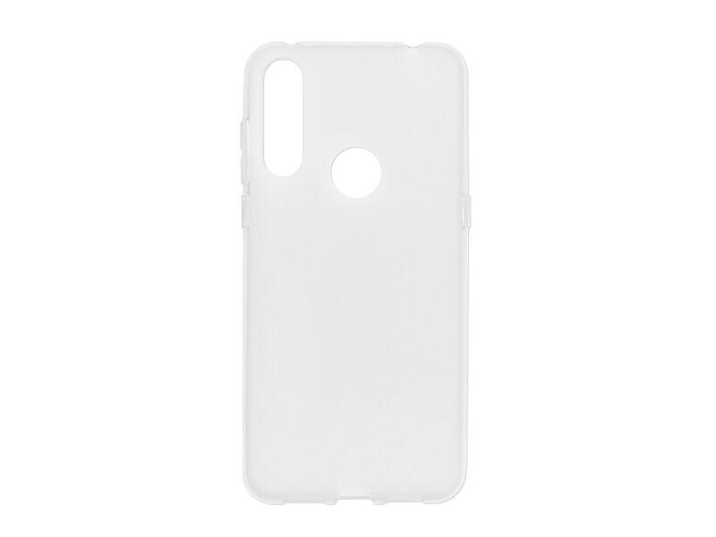 Alcatel 3L (2020) - etui na telefon FLEXmat Case - biały