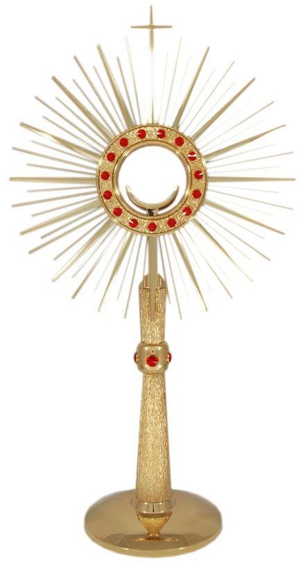 Monstrancja do liturgii