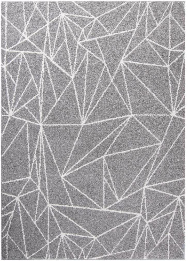Dywan Draft szary 200 x 300 cm