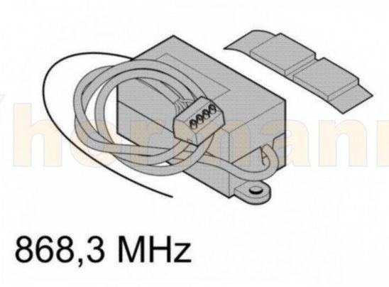 Odbiornik 2-kanałowy HE 2 868 MHz (zasilanie 24 V) do napędów Hormann (funkcja impuls)