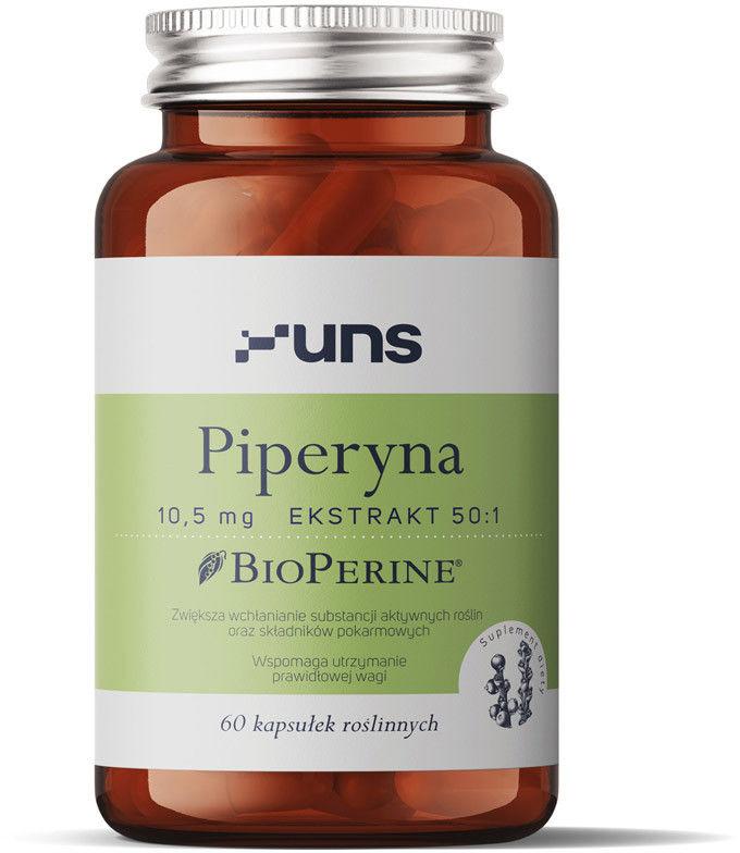 UNS Piperyna 10,5mg Ekstrakt 50:1 60vegcaps
