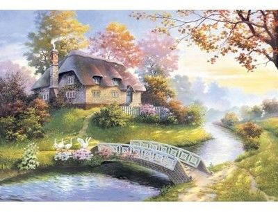 Puzzle Castor 1500 - Cottage, Chata