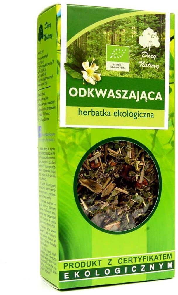 Herbata Odkwaszająca EKO 50 g Zioła Dary Natury