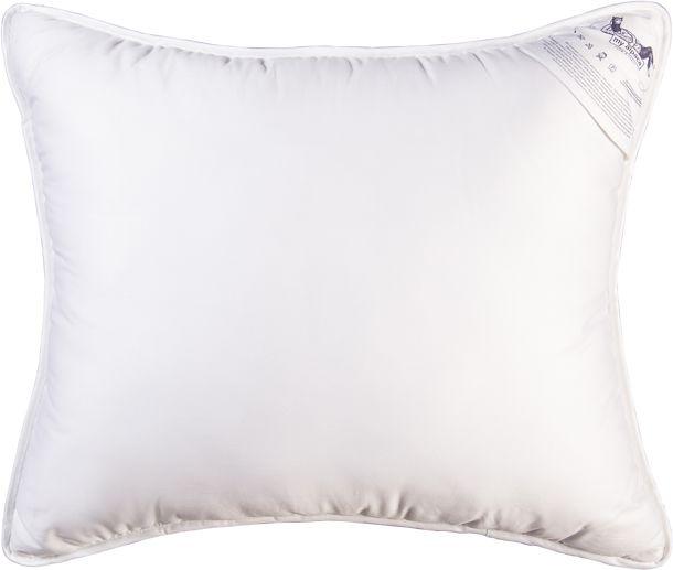 Poduszka My Alpaca z włókna Alpaki biała lamówka