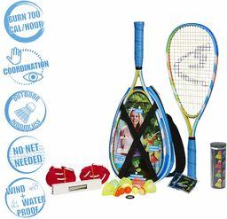 Speedminton S700 Zestaw do Gry w Badmintona / Crossmintona, Wielokolorowy, 400085