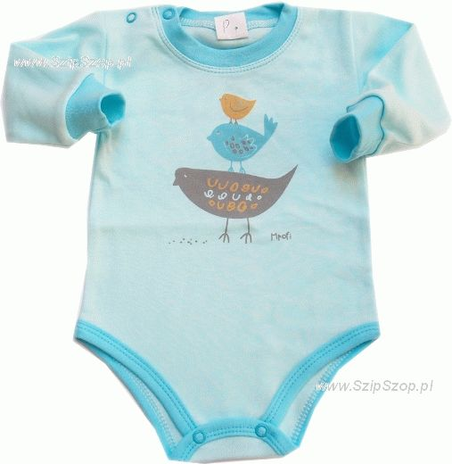 Body dla niemowląt długi rękaw Kurka Nioska
