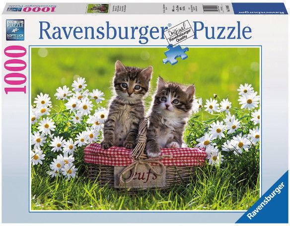 Puzzle Ravensburger 1000 - Koci piknik, Cat picnic