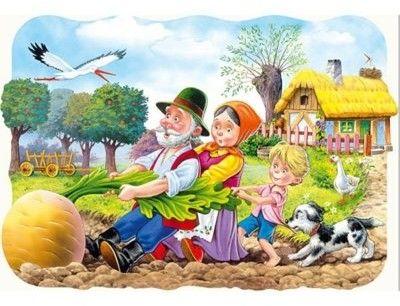 Puzzle Castor 30 - Rzepka, Big Turnip