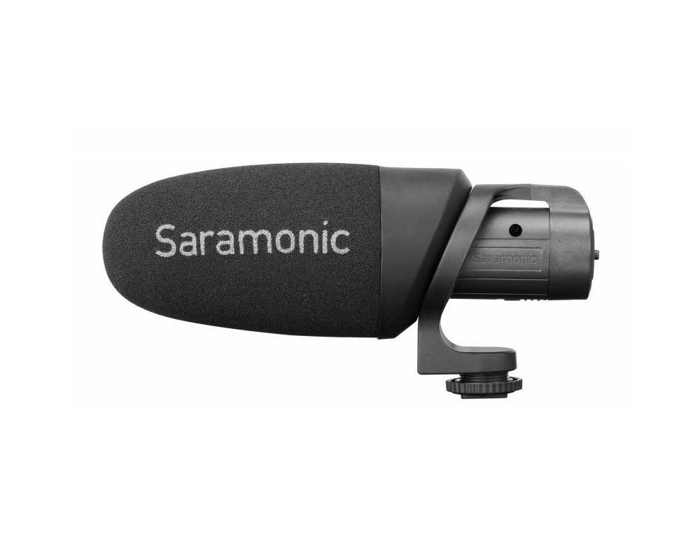 Saramonic CamMic+ - mikrofon pojemnościowy do aparatów, kamer i smartfonów Saramonic CamMic+