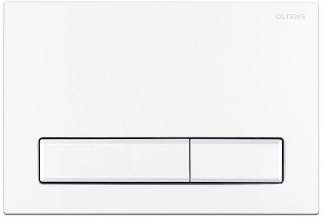 Oltens Torne przycisk spłukujący do WC biały 57101000