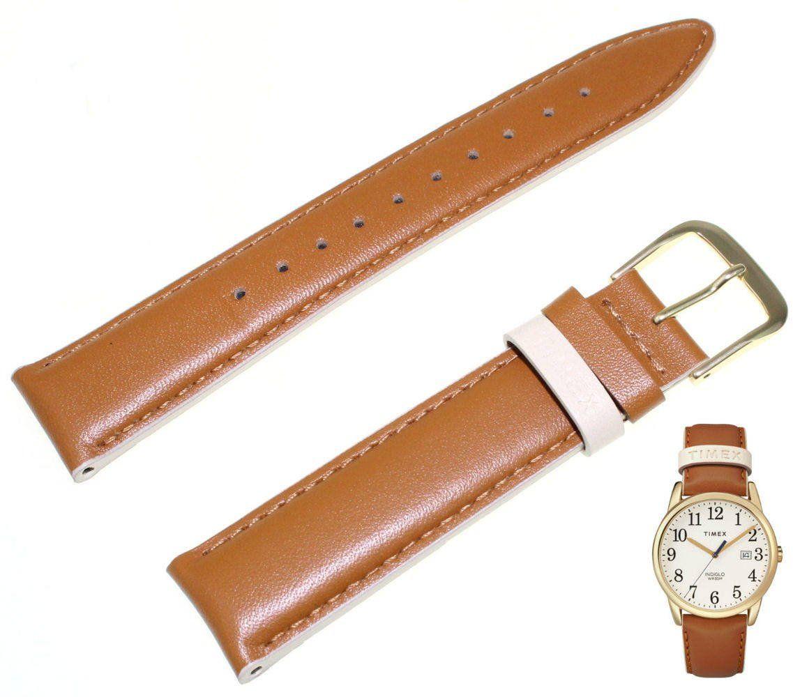 Pasek do zegarka Timex TW2R62700 PW2R62700 20 mm Skóra