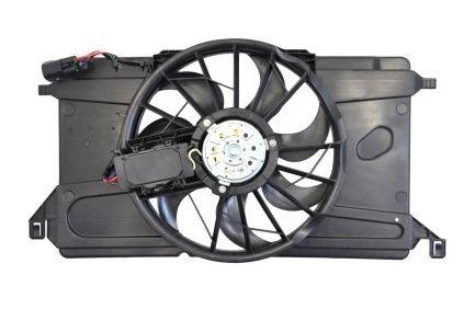 wentylator chłodnicy z obudową + moduł Focus Mk2  C-Max
