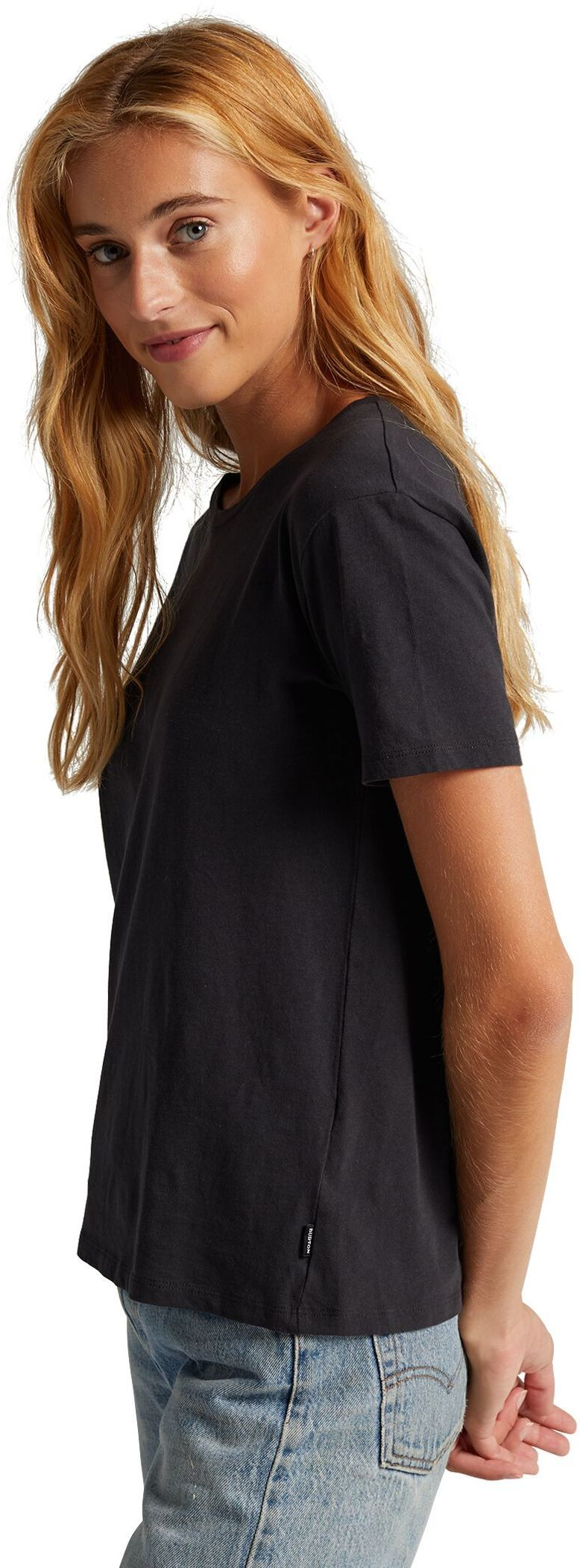 t-shirt damski BURTON W CLASSIC SS True Black