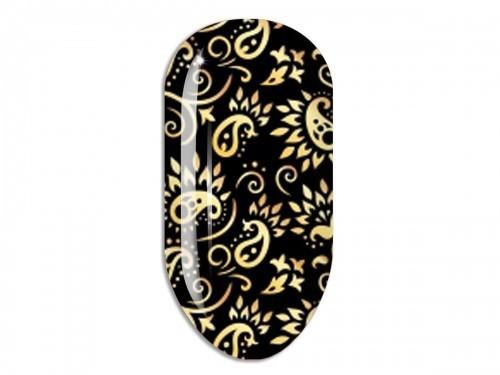 Nail Art Stikers Mollon Pro F126G naklejki do zdobienia
