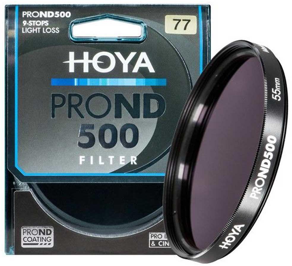 Filtr szary Hoya PRO ND500 55mm