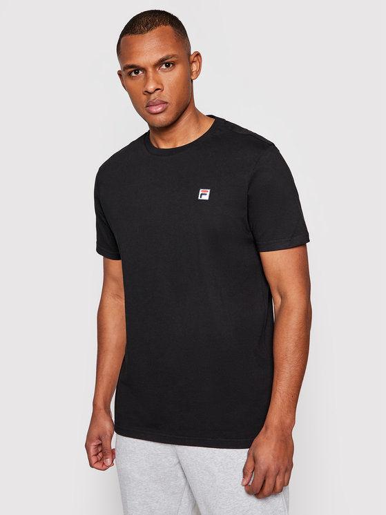 Fila T-Shirt Samuru 688567 Czarny Regular Fit