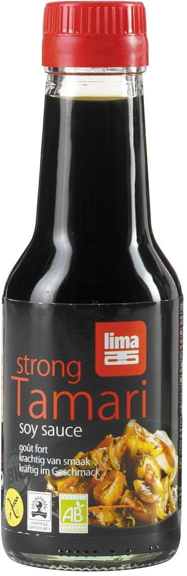 Sos sojowy tamari mocny bezglutenowy BIO - Lima - 145ml
