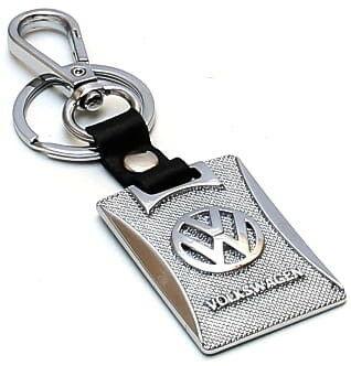 KeyChain Ltd. Brelok metal i skóra - Volkswagen