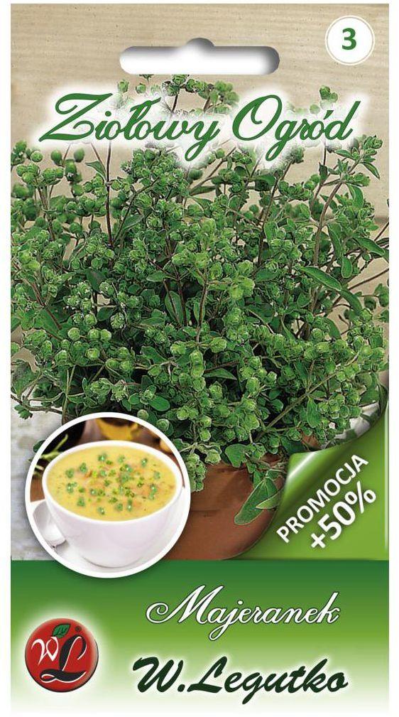 Majeranek nasiona tradycyjne 0.75 g W. LEGUTKO