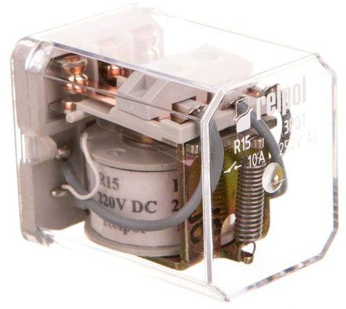Przekaźnik elektromagnetyczny 3P 10A 220V DC R15-1013-25-1220 607463