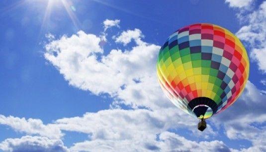 Lot balonem - Śląsk