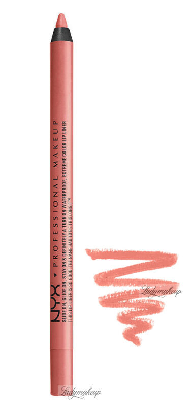 NYX Professional Makeup - SLIDE ON LIP PENCIL - Waterproof - Wodoodporna konturówka do ust - 03 - PINK CANTELOUPE