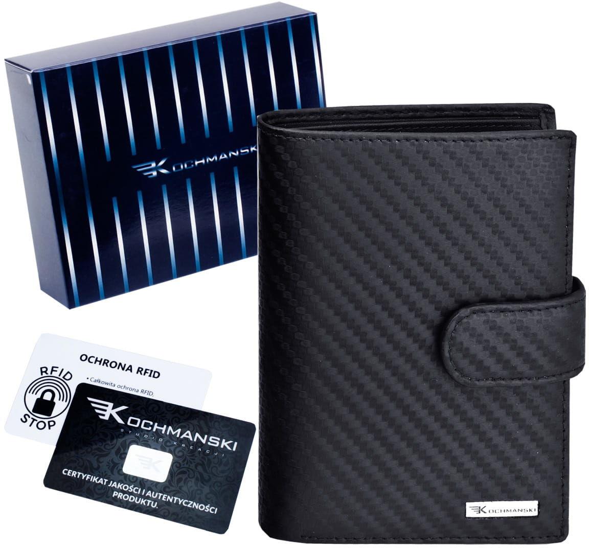 KOCHMANSKI skórzany portfel męski PREMIUM 3202