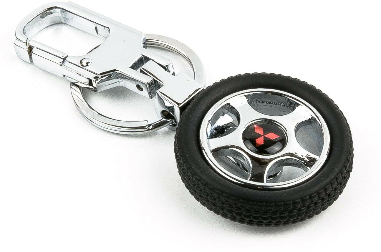Brelok opona / koło samochodowe - Mitsubishi