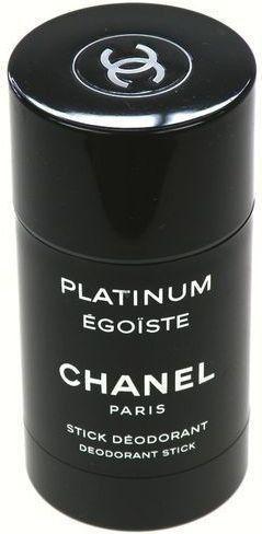 Chanel Égoste Platinum dezodorant w sztyfcie dla mężczyzn 75 ml