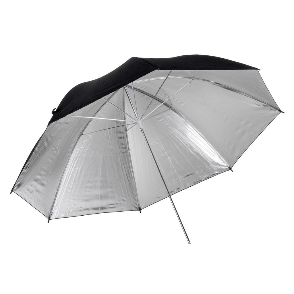 Parasolka srebrna Quadralite 91cm