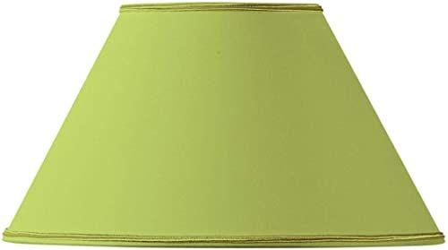 Klosz lampy w kształcie wiktoriańskim, Ø 35 x 15 x 21 cm, jasnozielony