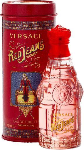 VERSACE Red Jeans EDT Woda toaletowa w sprayu 75ml