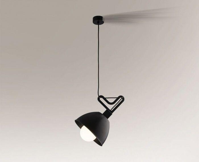 Lampa wisząca GOBO 5591 Shilo czarny