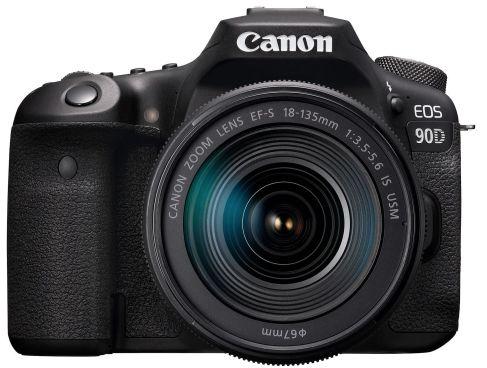 Lustrzanka Canon EOS 90D Body + obiektyw Canon EF-S 18-135mm f/3.5-5.6 IS USM