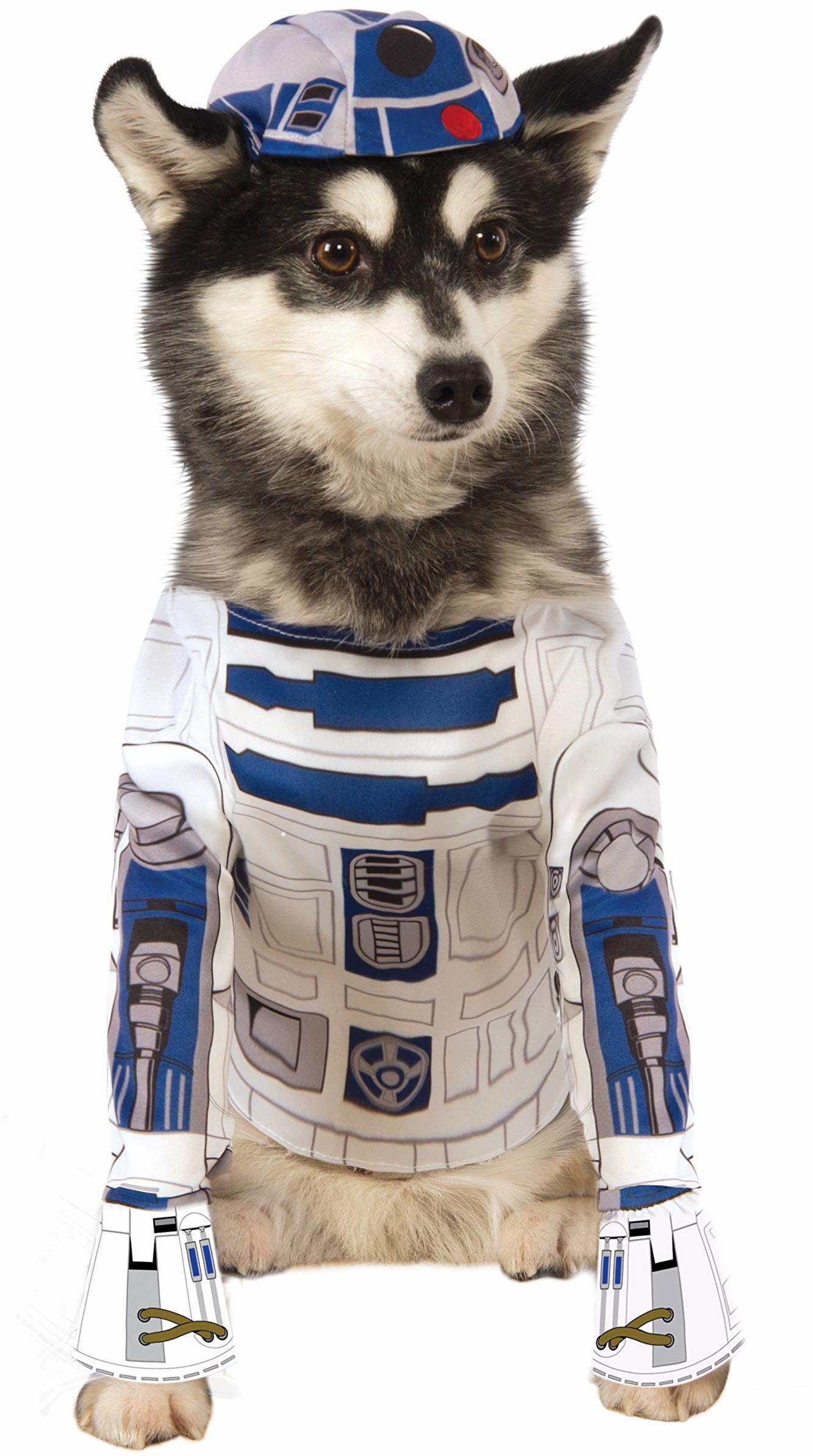 Oficjalny kostium dla psa Rubie''s Gwiezdne Wojny R2-D2, średni