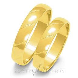 Obrączki ślubne Złoty Skorpion  wzór Au-O24
