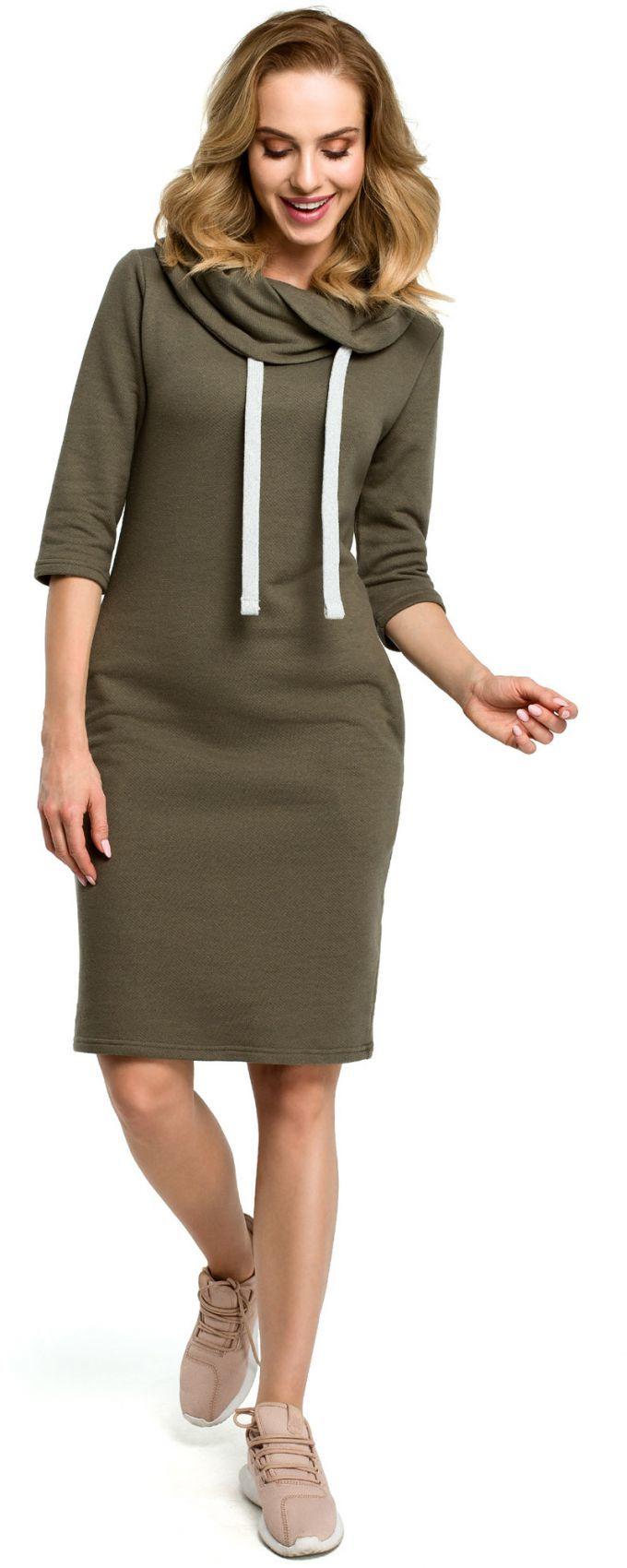 M391 sukienka - khaki