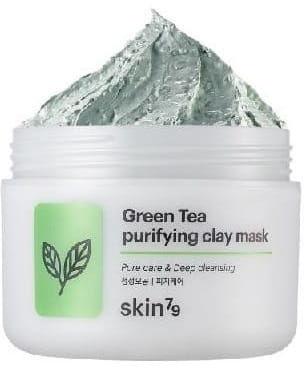SKIN79 Peelingująca maska w kremie na bazie zielonej herbaty 100ml