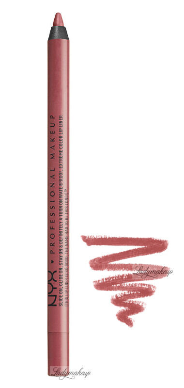 NYX Professional Makeup - SLIDE ON LIP PENCIL - Waterproof - Wodoodporna konturówka do ust - 19 - ALLURING
