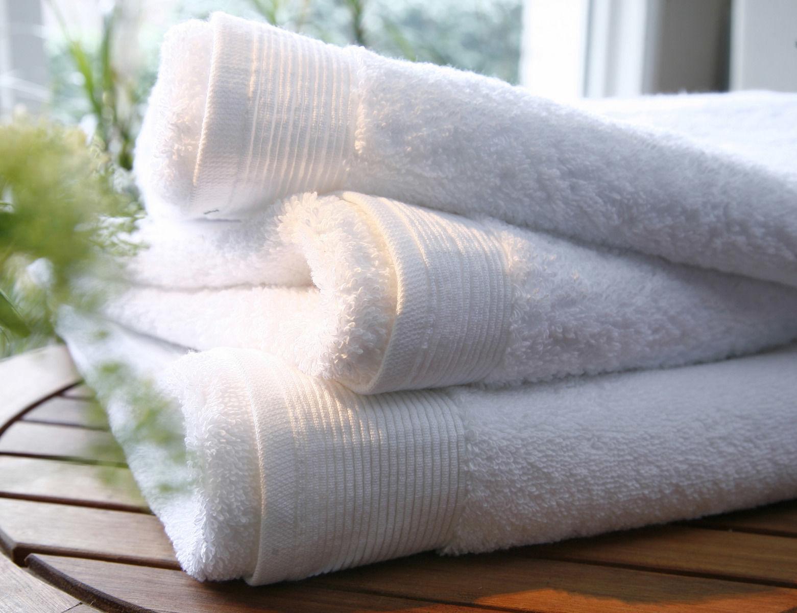 Ręcznik Blanc Des Vosges UNI Biały