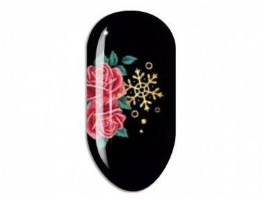 Nail Art Stikers Mollon Pro J096PG naklejki do zdobienia
