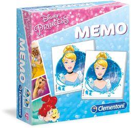 Clementoni Princess Memo Game, wielobarwna, 18009