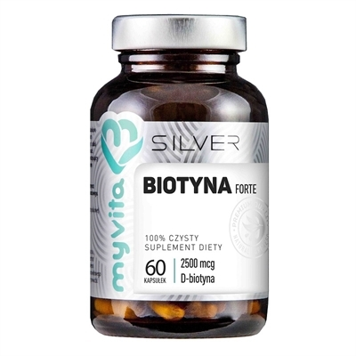 Biotyna Forte Silver Pure 60kaps