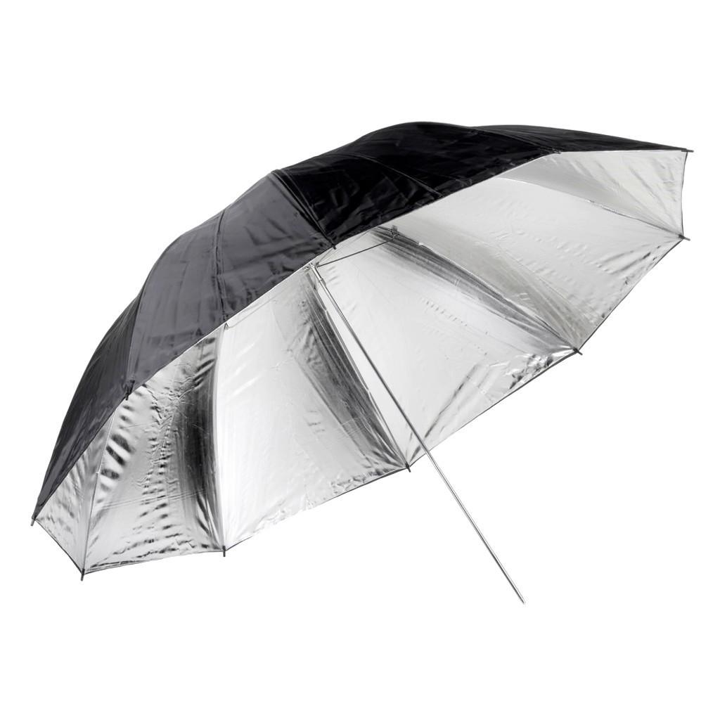 Parasolka srebrna Quadralite 150cm