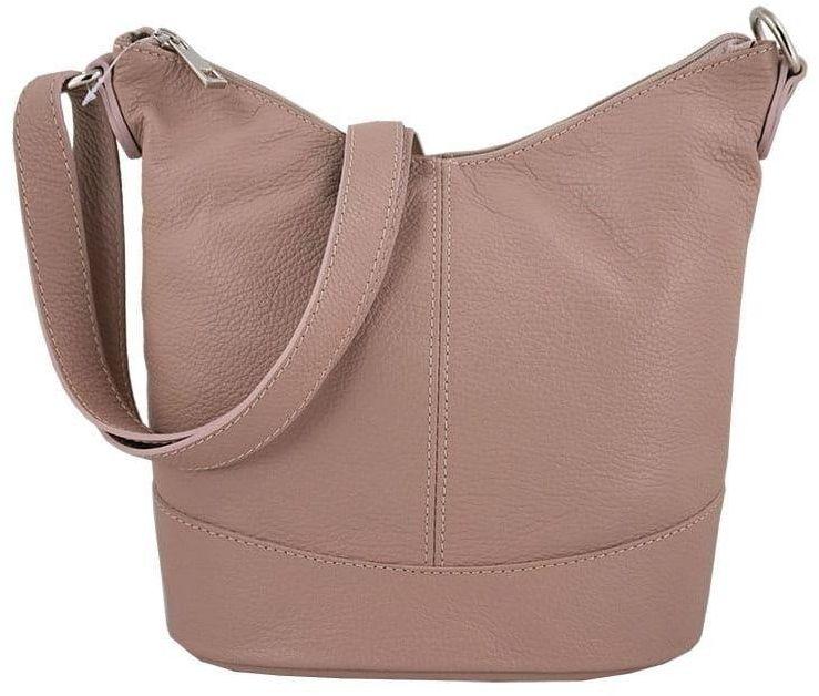 Modne torebki młodzieżowe - Barberini''s - Różowa pudrowa