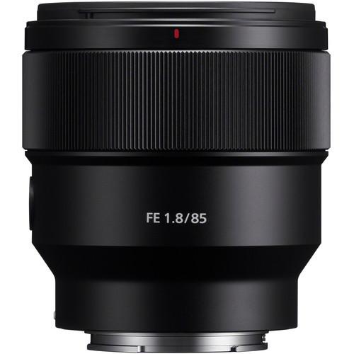 Sony FE 85mm F1.8 - obiektyw stałoogniskowy, SEL85F18 Sony SEL85F18