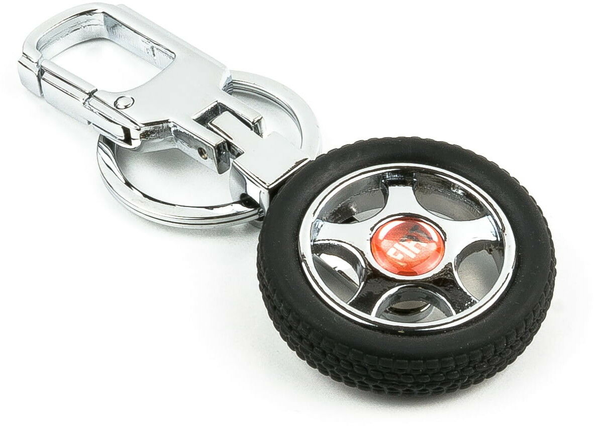 Brelok opona / koło samochodowe - Fiat