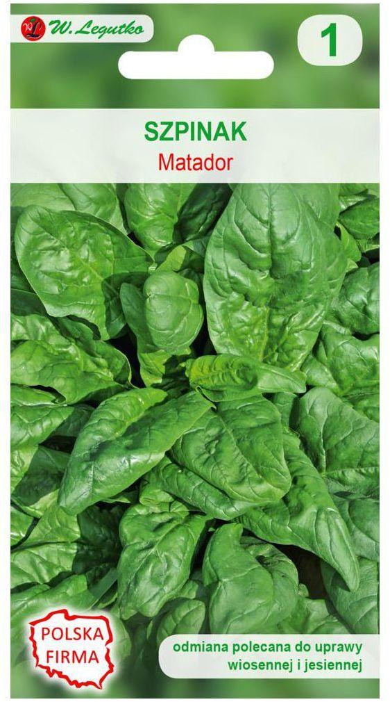 Szpinak MATADOR nasiona tradycyjne 20 g W. LEGUTKO