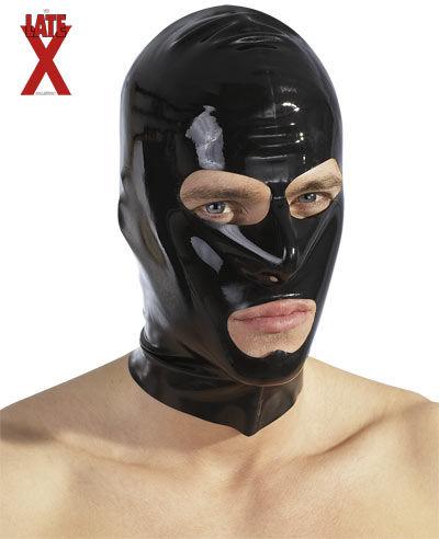 LateX Latex Mask - Latex Face Mask Black